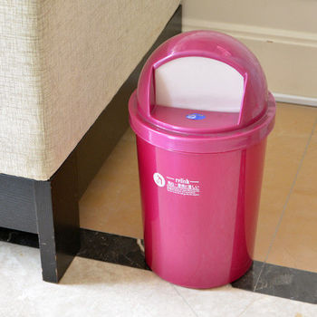 金鑽紙林(附蓋) 垃圾桶 紙簍 回收桶