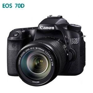 [64G+雙電組]Canon 70D 18-135mm KIT(公司貨)
