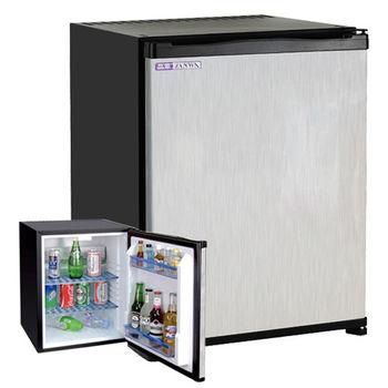 【ZANWA晶華】電動吸收式客房冰箱(鏡面鋼板前門)CLT-42ST