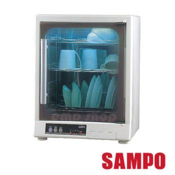 【聲寶SAMPO】光觸媒紫外線三層烘碗機 KB-GD65U