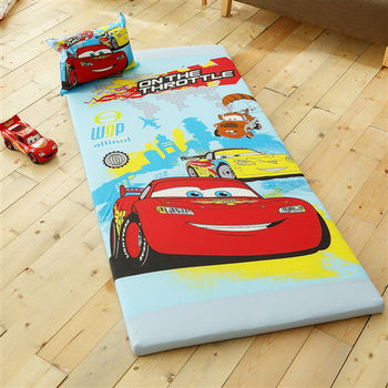 HO KANG 授權卡通 雙人三折式透氣床墊-CR旅行