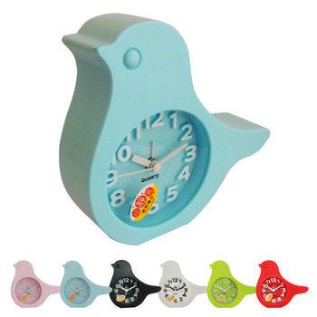 無敵王 糖果色小鳥造型立體數字鬧鐘 SV-1348