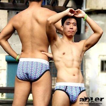 【aDLer】涼感繽紛三角內褲(紫豹紋)