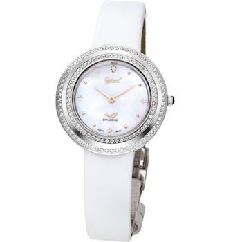 Ogival 瑞士愛其華-天香百合系列華麗心機時尚真鑽腕錶380-13DLW