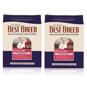 【BEST BREED】貝斯比 幼貓高營養配方 飼料 1.8公斤 X 2包
