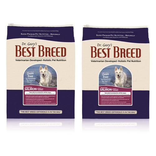 【BEST BREED】貝斯比 全齡犬 無穀鮭魚+蔬果配方 6.8公斤 X 2包