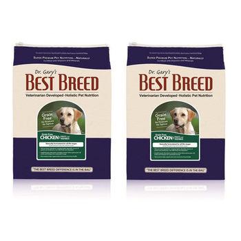 【BEST BREED】貝斯比 全齡犬 無穀雞肉+蔬果配方 飼料 6.8公斤 X 2包