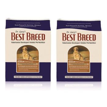 【BEST BREED】貝斯比 高齡犬低卡配方 飼料 6.8公斤 X 2包