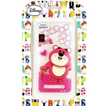 【Disney】ASUS ZenFone 5 Q版系列 彩繪透明保護軟套-熊抱哥