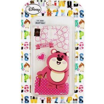 【Disney】Samsung Galaxy Note3 Q版系列 彩繪透明保護軟套-熊抱哥