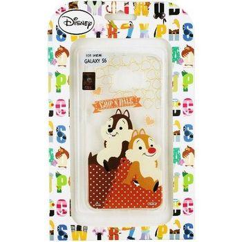 【Disney】Samsung Galaxy S6 Q版系列 彩繪透明保護軟套-奇奇蒂蒂
