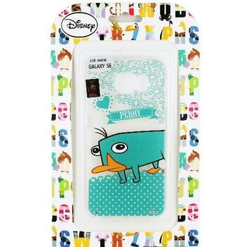 【Disney】Samsung Galaxy S6 Q版系列 彩繪透明保護軟套-泰瑞
