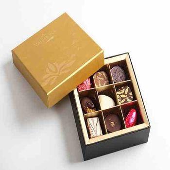 【VALRHONA】夾心巧克力濃情禮盒9入裝