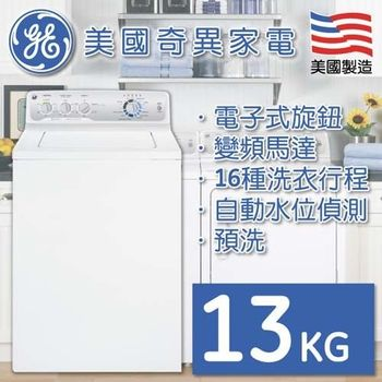 【GE奇異】13公斤直立洗衣機(GTWN4250DWW)