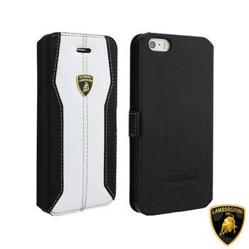 藍寶堅尼 Lamborghini iPhone 6/6S (H-D1)高質感皮套(白)