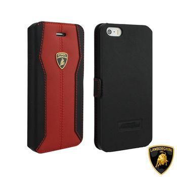 藍寶堅尼 Lamborghini iPhone 6/6S (H-D1)高質感皮套(紅)