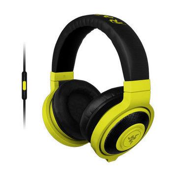 Razer 雷蛇 2015 北海巨妖行動版耳機麥克風 Kraken Mobile(黃色)