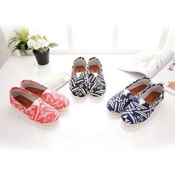 《DOOK》幾何圖騰 懶人鞋