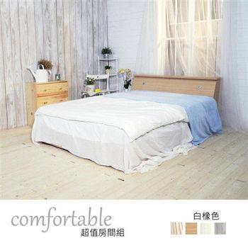 【時尚屋】[WG5]艾麗卡床箱型2件房間組-床箱+床底1WG5-47W