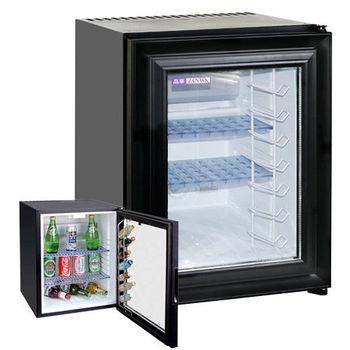 ZANWA晶華 電動吸收式客房冰箱(透明玻璃前門)CLT-42NB