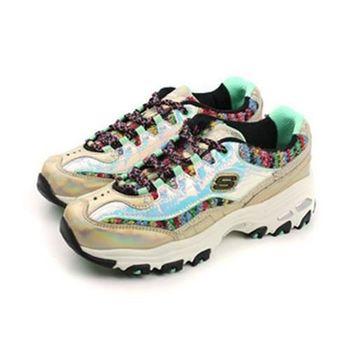 SKECHERS DLITES 運動鞋 金 女款 no225
