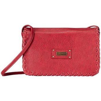 Roxy 2016時尚魅力Lazer梅紅色小斜背包(預購)