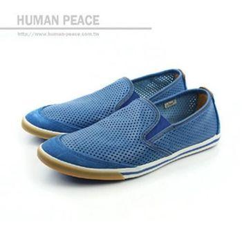Clarks Mego Slip 懶人鞋 藍 男款 no656