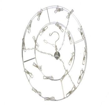不鏽鋼20夾圓形衣架