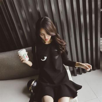 【DearBaby】可愛俏皮荷葉裙擺洋裝(預購)