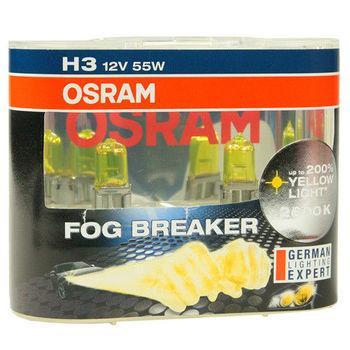 OSRAM 終極黃金2600K FOG BREAKER公司貨(H3)