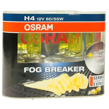 OSRAM 終極黃金2600K FOG BREAKER公司貨(H4)