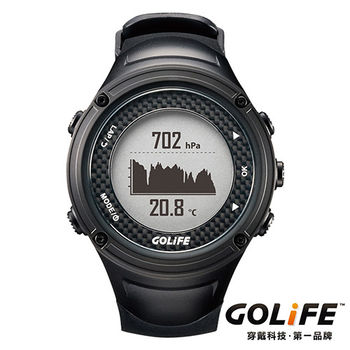 GOLiFE GoWatch X-PRO 全方位智慧戶外運動GPS腕錶(by PAPAGO!)-黑色