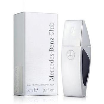 Mercedes Benz 賓士銀色風潮男性淡香水小香(3ml)