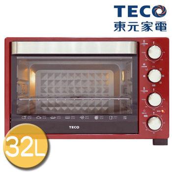【TECO東元】32L雙溫控烤箱/YB3201CBR