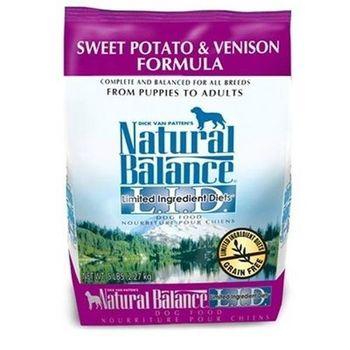 【Natural Balance】美國NB 低敏系列 無榖地瓜鹿肉-全犬 4.5磅 x 1包