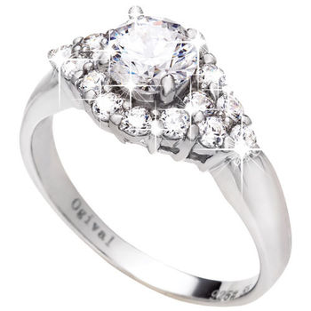 Ogival 瑞士愛其華 簇擁浪漫 八心八箭戒指