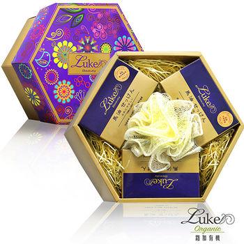 【Luke路加】寵愛媽咪馬油滋養潔膚皂限量禮盒(贈沐浴球)