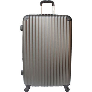 【YC Eason】超值流線型24吋可加大海關鎖款ABS硬殼行李箱(雅痞灰)