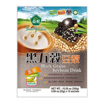 【薌園】黑五穀豆漿(25g x 12入) x 12袋