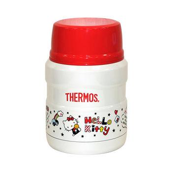 【THERMOS 膳魔師】KITTY限定版不鏽鋼0.47L真空保溫食物罐 SK3000KT