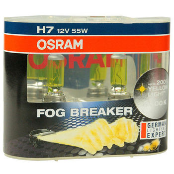 OSRAM 終極黃金2600K FOG BREAKER公司貨(H7)