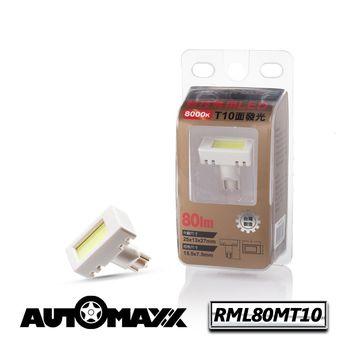 AutoMaxx ★ RML80MT10 『亮白光』面發光LED [12V‧8000k] [示寬燈/停車燈/倒車燈/車內燈/牌照燈可用]