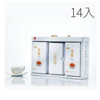 《農純鄉 原淬》滴雞精如意禮盒組(14包+杯盤組)