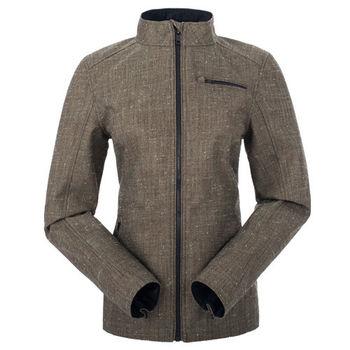 【聖伯納 St.Bonalt】女-短版英倫風時尚防水機能風衣-棕色(80176)