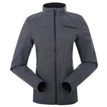 【聖伯納 St.Bonalt】女-短版英倫風時尚防水機能風衣-暗灰(80176)