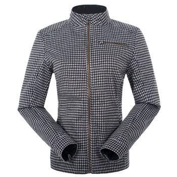 【聖伯納 St.Bonalt】女-短版英倫風時尚防水機能風衣-千鳥格(80176)