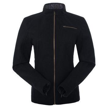 【聖伯納 St.Bonalt】女-短版英倫風時尚防水機能風衣-黑色(80176)