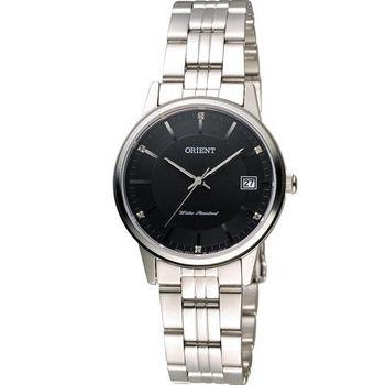 東方錶 ORIENT 日系簡約時尚優雅腕錶 FUNG7003B 黑