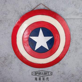 OPUS LOFT美國隊長1:1盾牌壁掛酒吧壁飾 復仇者聯盟派對佈置裝飾品(CAS02)