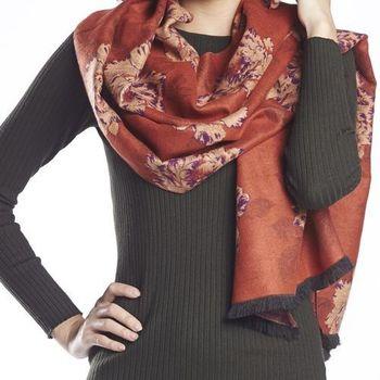 LYDC超大保暖羊毛圍巾超值組